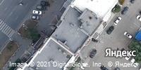 Фотография со спутника Яндекса, улица Воровского, дом 61Б в Челябинске