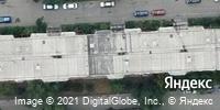 Фотография со спутника Яндекса, Свердловский проспект, дом 10А в Челябинске