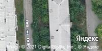 Фотография со спутника Яндекса, Свердловский проспект, дом 11А в Челябинске