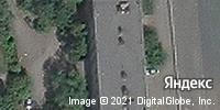 Фотография со спутника Яндекса, переулок Островского, дом 7 в Челябинске