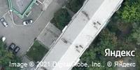 Фотография со спутника Яндекса, улица Воровского, дом 13А в Челябинске