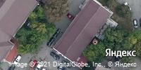 Фотография со спутника Яндекса, улица Воровского, дом 11А в Челябинске