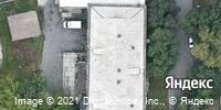 Фотография со спутника Яндекса, Российская улица, дом 21В в Челябинске