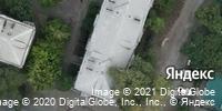 Фотография со спутника Яндекса, улица Руставели, дом 8 в Челябинске