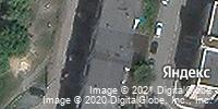 Фотография со спутника Яндекса, улица Пирогова, дом 1Б в Челябинске