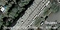 Фотография со спутника Яндекса, улица 1 Мая, дом 65 в Костанае