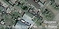 Фотография со спутника Яндекса, улица 1 Мая, дом 195 в Костанае