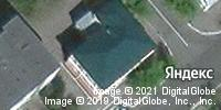 Фотография со спутника Яндекса, улица Куйбышева, дом 43 в Кургане