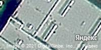 Фотография со спутника Яндекса, улица Федюнинского, дом 41 в Тюмени
