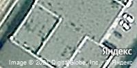 Фотография со спутника Яндекса, улица Федюнинского, дом 51 в Тюмени