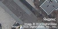 Фотография со спутника Яндекса, улица Мельникайте, дом 54, корпус 1 в Тюмени