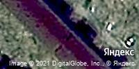 Фотография со спутника Яндекса, улица Мельникайте, дом 50А в Тюмени