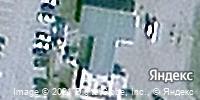 Фотография со спутника Яндекса, улица Мельникайте, дом 12 в Тюмени