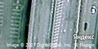 Фотография со спутника Яндекса, улица Мельникайте, дом 1 в Тюмени