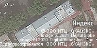 Фотография со спутника Яндекса, улица Шота Руставели, дом 13А в Ташкенте