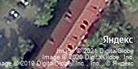 Фотография со спутника Яндекса, проспект Мира, дом 8 в Омске