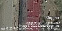 Фотография со спутника Яндекса, улица Серова, дом 1В в Омске
