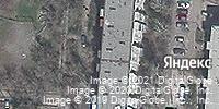 Фотография со спутника Яндекса, 8-й микрорайон, дом 44 в Бишкеке