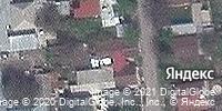 Фотография со спутника Яндекса, улица Герцена, дом 36 в Алматы