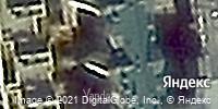 Фотография со спутника Яндекса, Октябрьская улица, дом 40 в Новосибирске