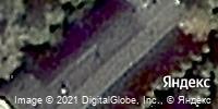 Фотография со спутника Яндекса, улица Александра Невского, дом 9/1 в Новосибирске