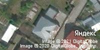 Фотография со спутника Яндекса, улица Пенаты, дом 9 в Барнауле