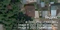 Фотография со спутника Яндекса, Юрточный переулок, дом 26 в Томске