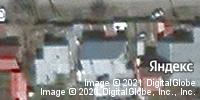 Фотография со спутника Яндекса, улица Гагарина, дом 9 в Кемерове
