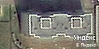 Фотография со спутника Яндекса, улица Гагарина, дом 51 в Кемерове