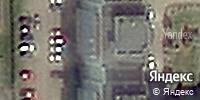 Фотография со спутника Яндекса, улица Гагарина, дом 52 в Кемерове