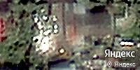 Фотография со спутника Яндекса, улица Гагарина, дом 73 в Кемерове