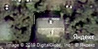 Фотография со спутника Яндекса, улица Гагарина, дом 107 в Кемерове