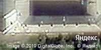 Фотография со спутника Яндекса, улица Гагарина, дом 118 в Кемерове