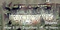Фотография со спутника Яндекса, улица Гагарина, дом 115 в Кемерове