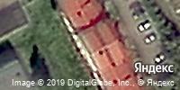 Фотография со спутника Яндекса, улица Терешковой, дом 40А в Кемерове