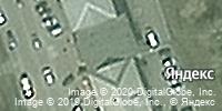 Фотография со спутника Яндекса, проспект Шахтёров, дом 14А в Прокопьевске