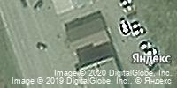 Фотография со спутника Яндекса, проспект Шахтёров, дом 12А в Прокопьевске