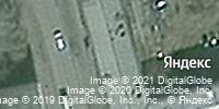 Фотография со спутника Яндекса, улица Пирогова, дом 24 в Новокузнецке