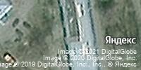 Фотография со спутника Яндекса, улица Циолковского, дом 28 в Новокузнецке