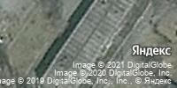 Фотография со спутника Яндекса, улица Клименко, дом 44А в Новокузнецке