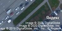 Фотография со спутника Яндекса, улица Молокова, дом 17/1 в Красноярске