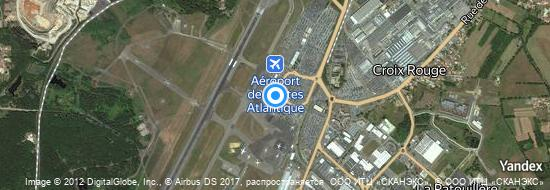 Aéroport de Nantes-Atlantique- carte