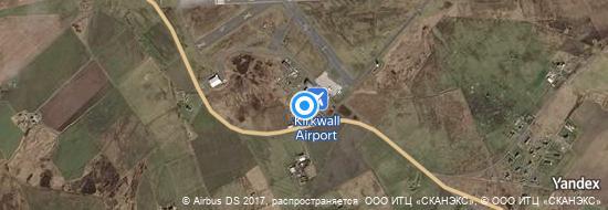 Aéroport de Kirkwall- carte