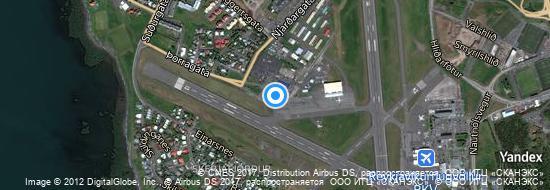 Flughafen Reykjavik - Karte