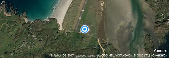 Flygplats Donegal - Karta