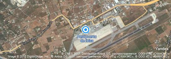 Aeropuerto Ibiza - mapa