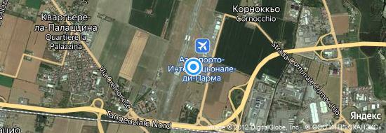Аэропорт Парма - Карта