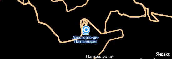 Аэропорт Пантеллерия - Карта