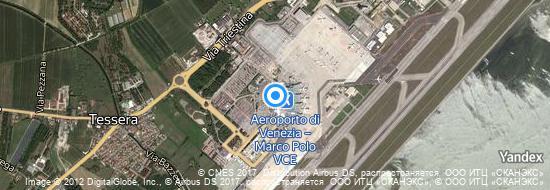 Aéroport de Venise-Marco Polo- carte