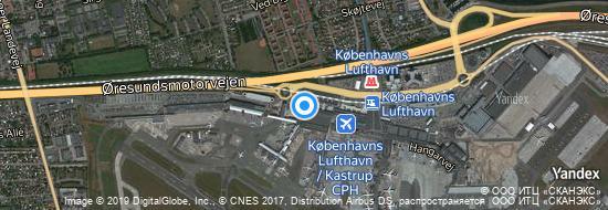 Airport Copenhagen - Map